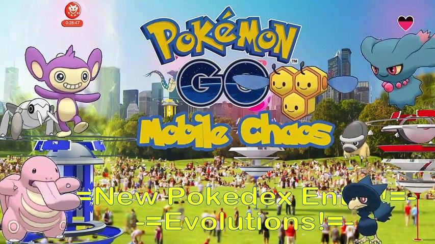 Pokemon Go ☼ Evolution Video ☼ Shieldon, Nincada, Lickitung and Others!