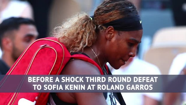 Serena Williams - a tumultuous year