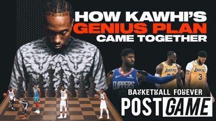 POST GAME | Kawhi's Genius Free Agency Plan