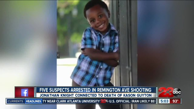 Suspect arrested in Remington Ave shootout connected to Kason Guyton murder