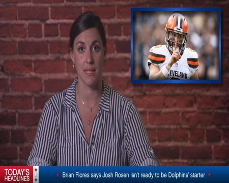 Stars and Bites: Browns QB Mayfield tries to make peace with Jones