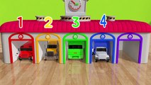 Learn Colors with Street Vehicle and Suprise Color Box Magic Slide Pretend Play for Kids (1)