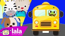 Wheels on the bus - Cao Le Ha Trang - Children Nusery Animated Cartoon Rhymes - LalaTV