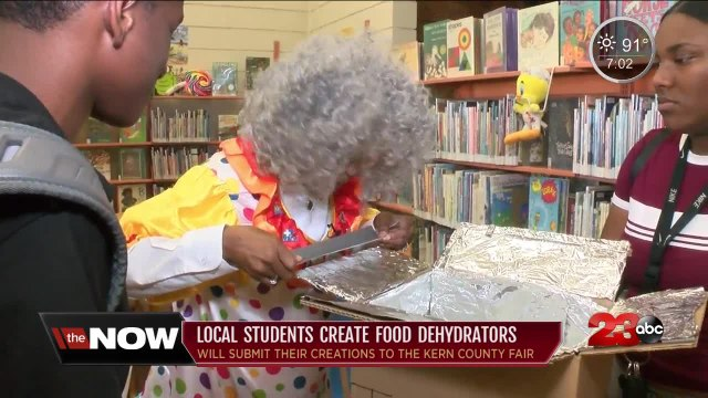 Local Students Create Food Dehydrators