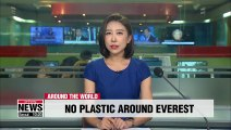 Single-use plastics to be banned in Nepal's Everest region from next year