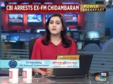The Latest: CBI arrests P Chidambaram from his Delhi residence