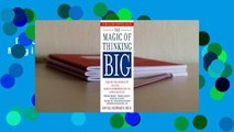 [MOST WISHED]  The Magic of Thinking Big