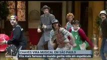 """Reportagem Chaves - O Musical (SBT irá exibir episódio """"inédito"""" de Chaves, em 24/08/2019) - Primeiro Impacto (21/08/2019) (04h30)"""