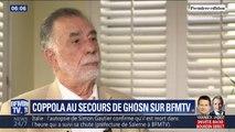 Pour Francis Ford Coppola, réalisateur et ami de Carlos Ghosn, l'ancien PDG de Renault-Nissan est victime d'une machination