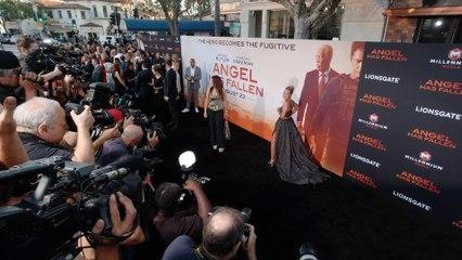 """Jada Pinkett Smith """"Angel Has Fallen"""" World Premiere in 4K"""