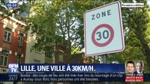 Lille: les automobilistes devront désormais rouler à 30 km/h dans la plupart des rues du centre-ville