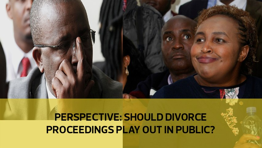 Perspective: Should divorce proceedings play out in public