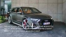 Der neue Audi RS 6 Avant - das Exterieurdesign