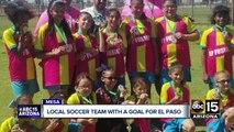Valley soccer teams step up to help El Paso