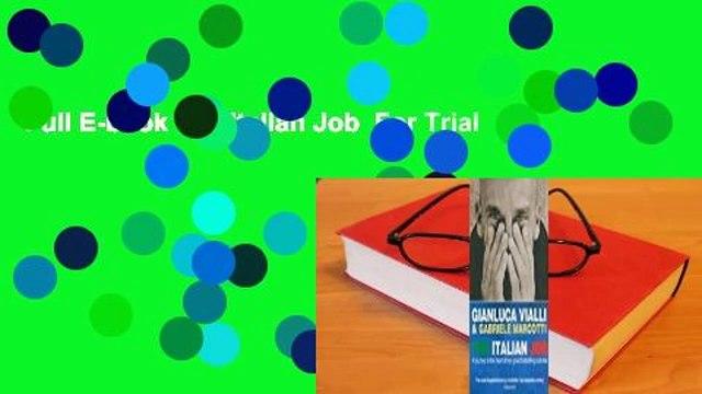 Full E-book The Italian Job  For Trial