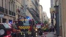 Marseille. 3 blessés dans un feu d'appartement rue Sainte