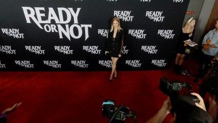 """Samara Weaving """"Ready or Not"""" LA Premiere Red Carpet in 4K"""