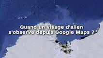Quand un visage d'alien s'observe depuis Google Maps !