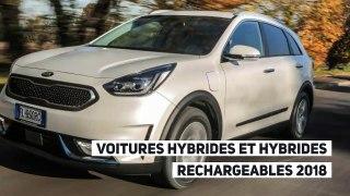 Les nouvelles voitures hybrides et hybrides rechargeables