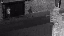 CCTV of MK graffiti