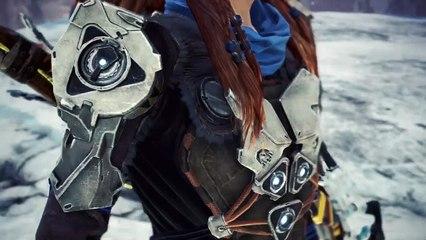 Monster Hunter World: Iceborne - Tráiler Horizon Zero Dawn