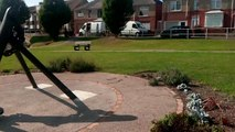 Residents fury as teenagers vandalise war memorial