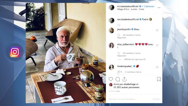 Guy Bedos : Nicolas Bedos dévoile une photo de son père, les internautes émus
