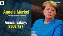Top 10 highest-paid leaders of the world
