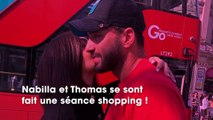 Nabilla et Thomas Vergara  plus de 25 000€ de shopping chez Hermès !