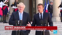 """""""The relationship between our two countries is essential and indestructible,"""" says Macron"""