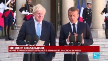 """""""Irish backstop is indispensable guarantee for preserving stability in Ireland,"""" says Macron"""