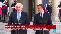"Brexit deadlock: ""I want a deal,"" says Johnson"
