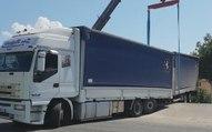 Rende (CS) - Camion bloccato sulla statale 107 in località Cutura (22.08.19)