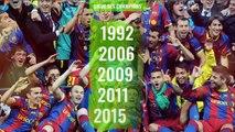 FC Barcelone : le palmarès complet du club catalan