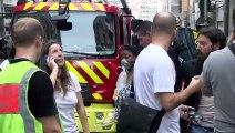 Marseille. « Un mec s'est jeté par la fenêtre » de l'appartement en flamme. Le reportage