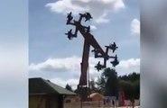 Un parc d'attractions contraint de fermer son nouveau manège en forme de croix gammées