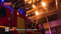 Val-de-Marne : incendie mortel à côté de l'hôpital de Créteil