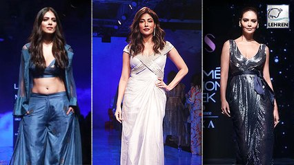 Malavika Mohanan, Esha Gupta And Raja Kumari's Ramp Walk