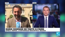 """Johnson en visite à Paris : """"On peut s'attendre à une guerre de position"""""""