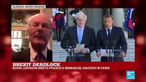 """Macron, Johnson press conference: """"It's very clear the two sides are still very far apart"""""""