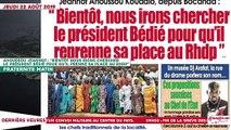 """Le Titrologue du 22 Août 2019  : Ahoussou Jeannot, """"Bientôt nous irons chercher le président Bédié pour qu'il prenne sa place au RHDP"""""""