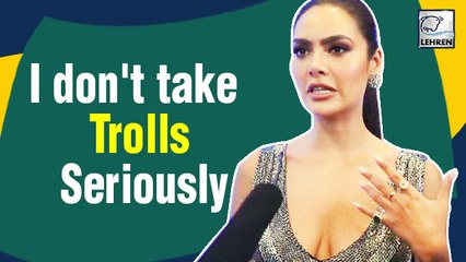 Esha Gupta Is Not Serious About Trolls | LFW Day 2