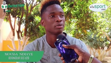 Entretien avec Moussa Ndiaye Défenseur des U20