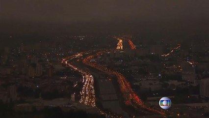 Video: Amazon ormanlarından yükselen dumanlar Sao Paulo şehrini karanlığa bürüdü
