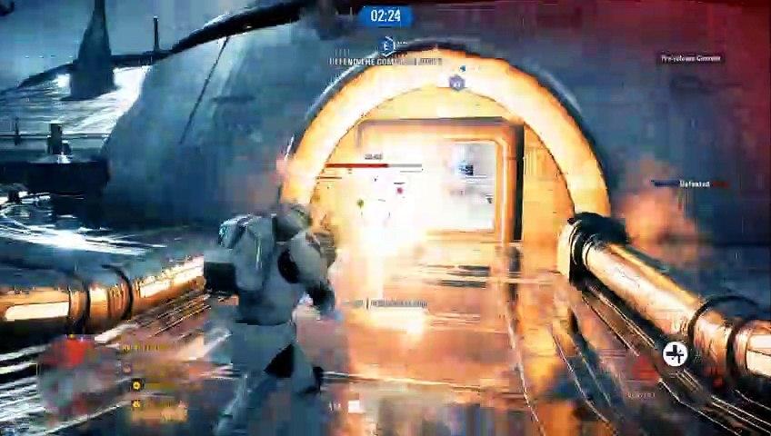 Clone Commando gameplay Star Wars Battlefront 2