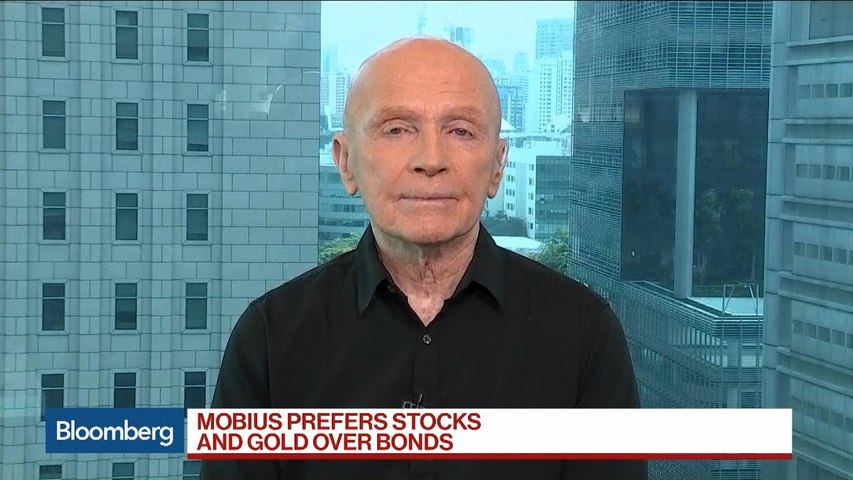 Mobius: The Place to Be Is in Stocks and Gold