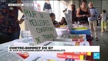 Contre-sommet du G7 : Deuxième jour du rassemblement altermondialiste