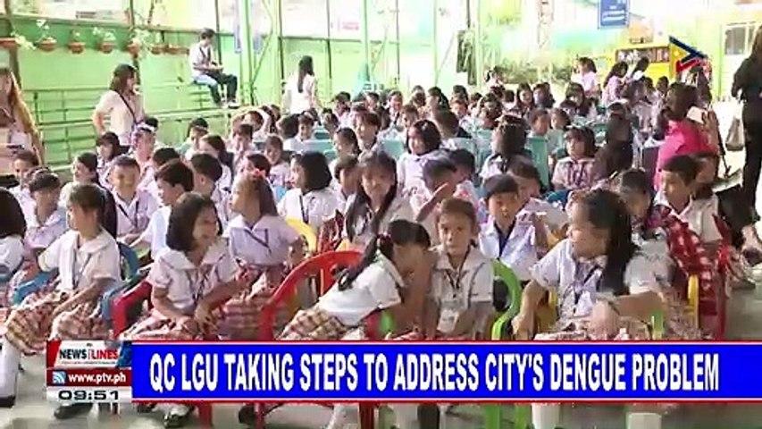 QC LGU taking steps to address city's dengue problem