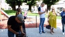 Ils tournent un film pour promouvoir la beauté de Bourg-en-Bresse