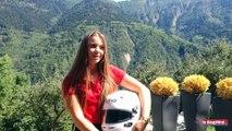 Angélina Favario, en route vers la formule 1